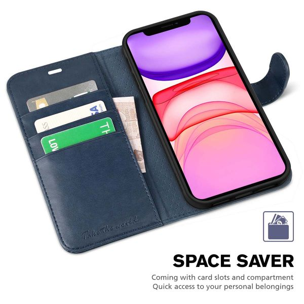 AMPLE iPhone 12 Mini Case Kickstand iPhone 12 Mini Book Cover Premium PU Leather Flip Foil Magnetic Protective ROSE GOLD Wallet Case Cover for iPhone 12 Mini {5.4} Credit Card Slot