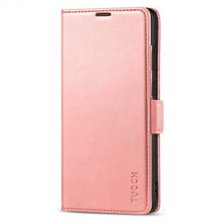 TUCCH Samsung S21 Ultra Wallet Case, Samsung Galaxy S21 Ultra 5G Flip PU Leather Cover, Stand with RFID Blocking and Magnetic Closure-Rose Gold