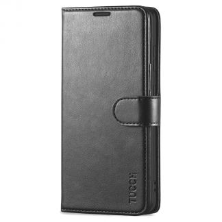 TUCCH Samsung Galaxy S20FE Wallet Case Folio Style Kickstand With Magnetic Strap