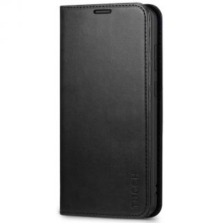 TUCCH Samsung S20 Plus Wallet Case, Galaxy S20 Plus /5G Flip Cover, Stand with RFID Blocking and Magnetic Closure-Black