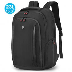 "15.6"" Laptop Backpack, 23L Carry-on College High School Bag with Anti-theft Pocket"