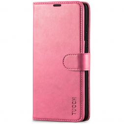 TUCCH Samsung Galaxy A52 Wallet Case Folio Style Kickstand With Magnetic Strap - Hot Pink