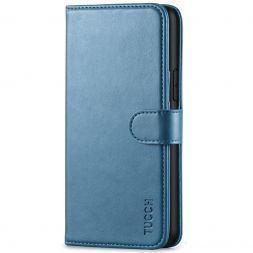 TUCCH iPhone 11 Pro Wallet Case Folio Flip Kickstand With Magnetic Clasp-Lake Blue