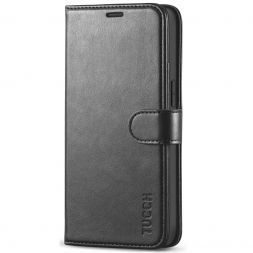 TUCCH iPhone 12 Mini Wallet Case Folio Flip Kickstand With Magnetic Clasp