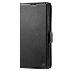TUCCH SAMSUNG Galaxy Note20 /5G Wallet Case Folio Style Kickstand With Dual Magnetic Clasp Tab-Black