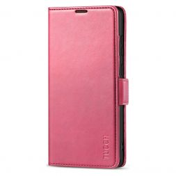 TUCCH SAMSUNG Galaxy Note20 Ultra Wallet Case Folio Style Kickstand With Dual Magnetic Clasp Tab-Hot Pink