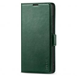 TUCCH SAMSUNG Galaxy Note20 Ultra Wallet Case Folio Style Kickstand With Dual Magnetic Clasp Tab-Midnight Green