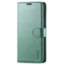 TUCCH Samsung Galaxy S20FE Wallet Case Folio Style Kickstand With Magnetic Strap-Myrtle Green