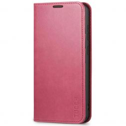 TUCCH Samsung S20 Plus Wallet Case, Galaxy S20 Plus /5G Flip Cover, Stand with RFID Blocking and Magnetic Closure-Hot Pink