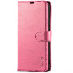 TUCCH Samsung S21 Wallet Case, Samsung Galaxy S21 5G Flip PU Leather Cover, Stand with RFID Blocking and Magnetic Closure-Hot Pink