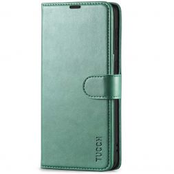 TUCCH Samsung S21 Wallet Case, Samsung Galaxy S21 5G Flip PU Leather Cover, Stand with RFID Blocking and Magnetic Closure-Myrtle Green