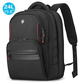 """17"""" Laptop Backpack, 24L Carry-on Travel Backpack TSA Friendly and Water Resistant"""