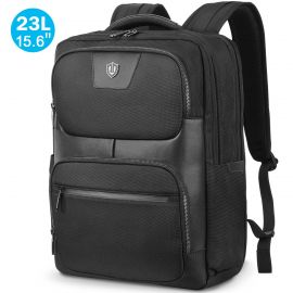 15.6 Inch Laptop Backpack, 23L Travel Backpack Anti-Theft, RFID Blocking Pocket, Water Resistant
