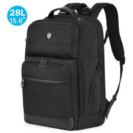 15.6-inch Laptop Backpack, 28L Travel Backpack with Anti-theft Sleeve RFID Blocking Pocket, Water Resistant Bag