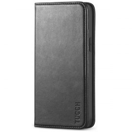 TUCCH iPhone 12 Mini Wallet Case - Mini iPhone 12 5.4-inch Flip Cover With Magnetic Closure
